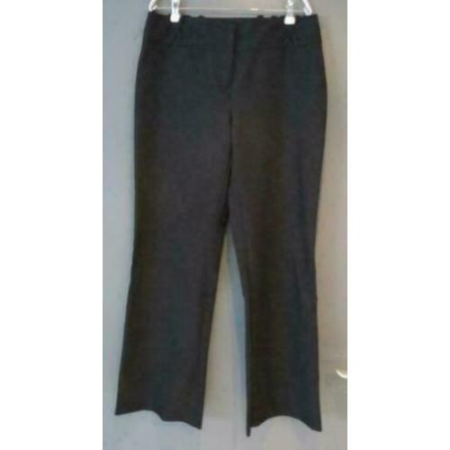 zwarte nette pantalon wide fit maat 42